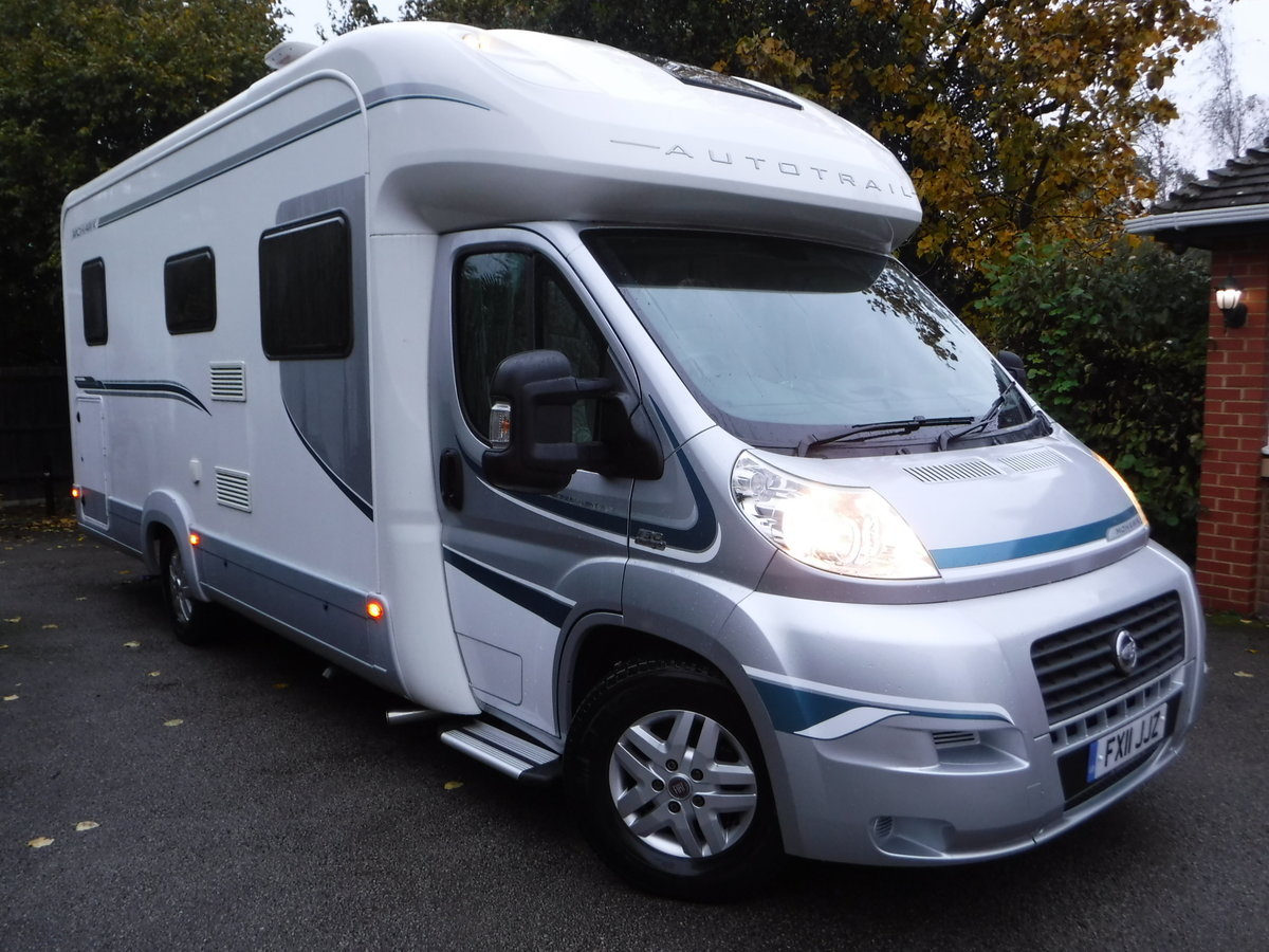 2011 Fiat Ducato Maxi Autorail Mohawk, 4 Berth, 2 Belted Seats  For Sale (picture 1 of 6)