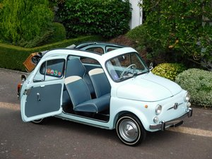 Picture of Fiat 500D Trasformabile 1963 LHD Restored & Exceptional!