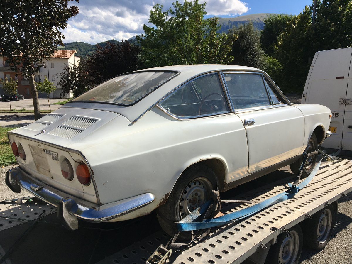 1971 Fiat 850 Sport Coupe For Sale (picture 2 of 6)