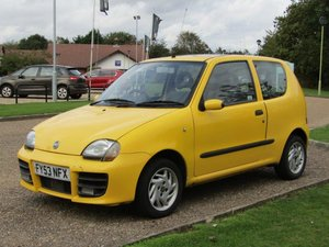 Picture of 2003 Fiat Seicento Sporting at ACA 7th November