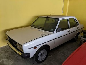 Picture of 1979 Fiat 131 saloon. 35k mls  mint original