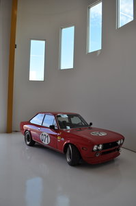Fiat 124 coupe SVRA/FIA race car