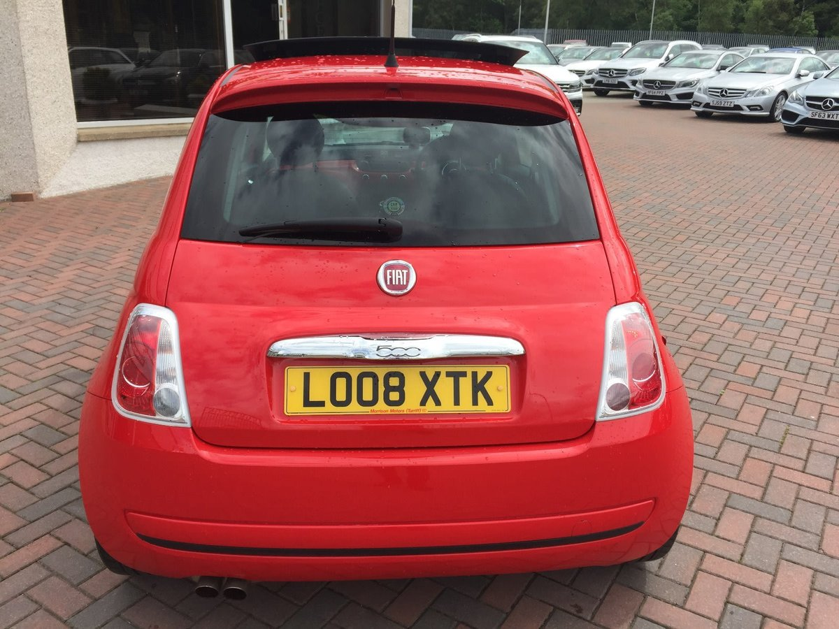 2008 Fiat 500 Sport Ferrari Limited Edition SOLD (picture 1 of 6)