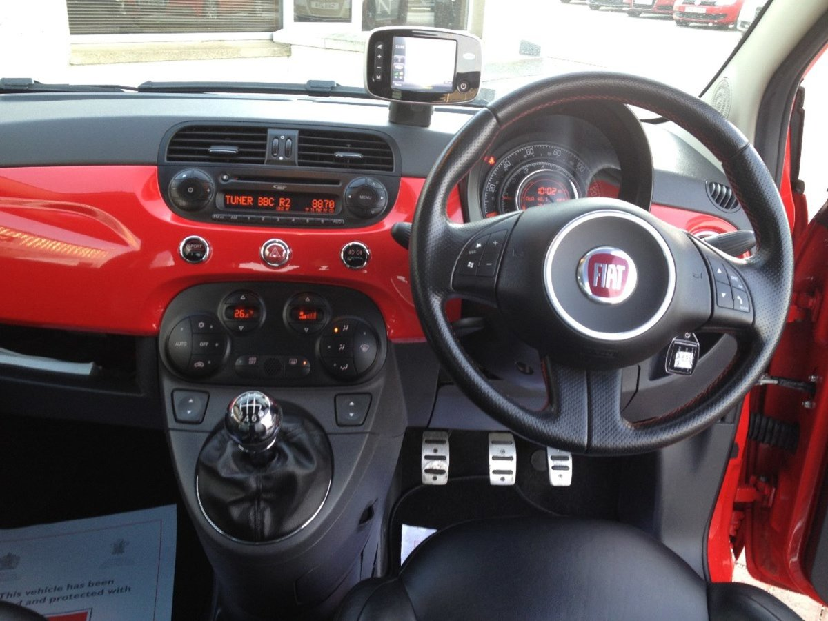 2008 Fiat 500 Sport Ferrari Limited Edition SOLD (picture 6 of 6)