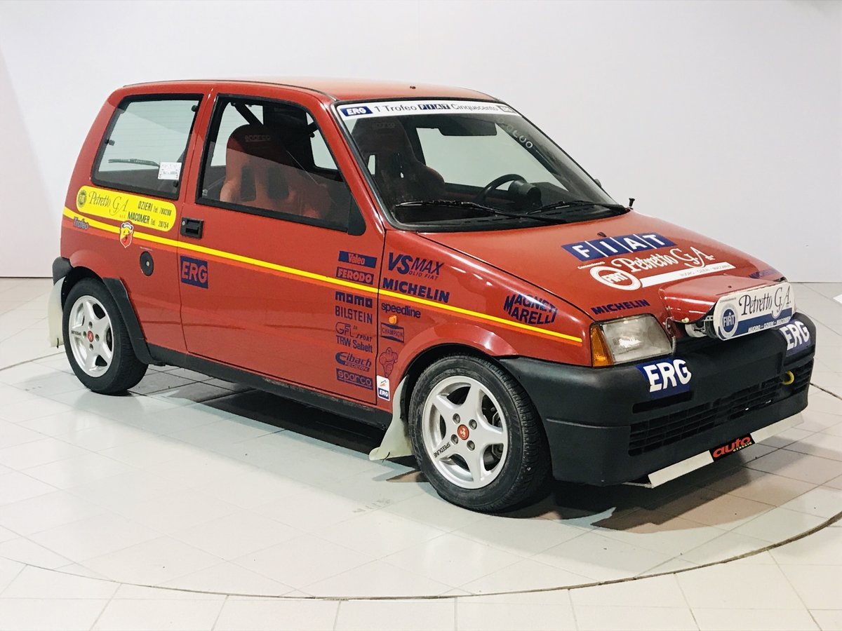 1998 Fiat 500 Abarth Trofeo For Sale (picture 1 of 6)