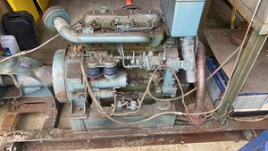 Picture of 1980 FIAT DIESEL ENGINE PUMP / GENERATOR ENGINE LOW HOURS £1895  For Sale