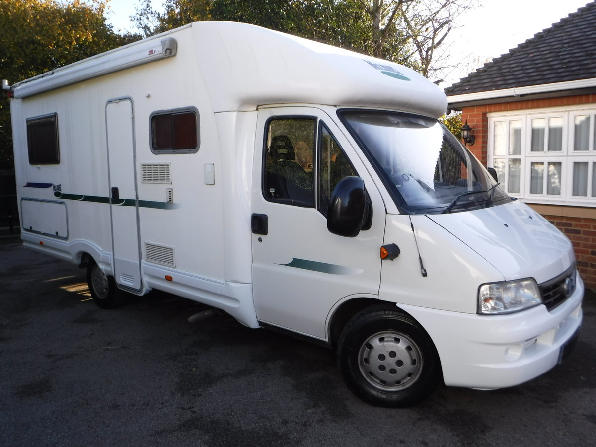 2003 Mclouis 4 Berth, 6 Belted Seat Motorhome For Sale (picture 1 of 6)