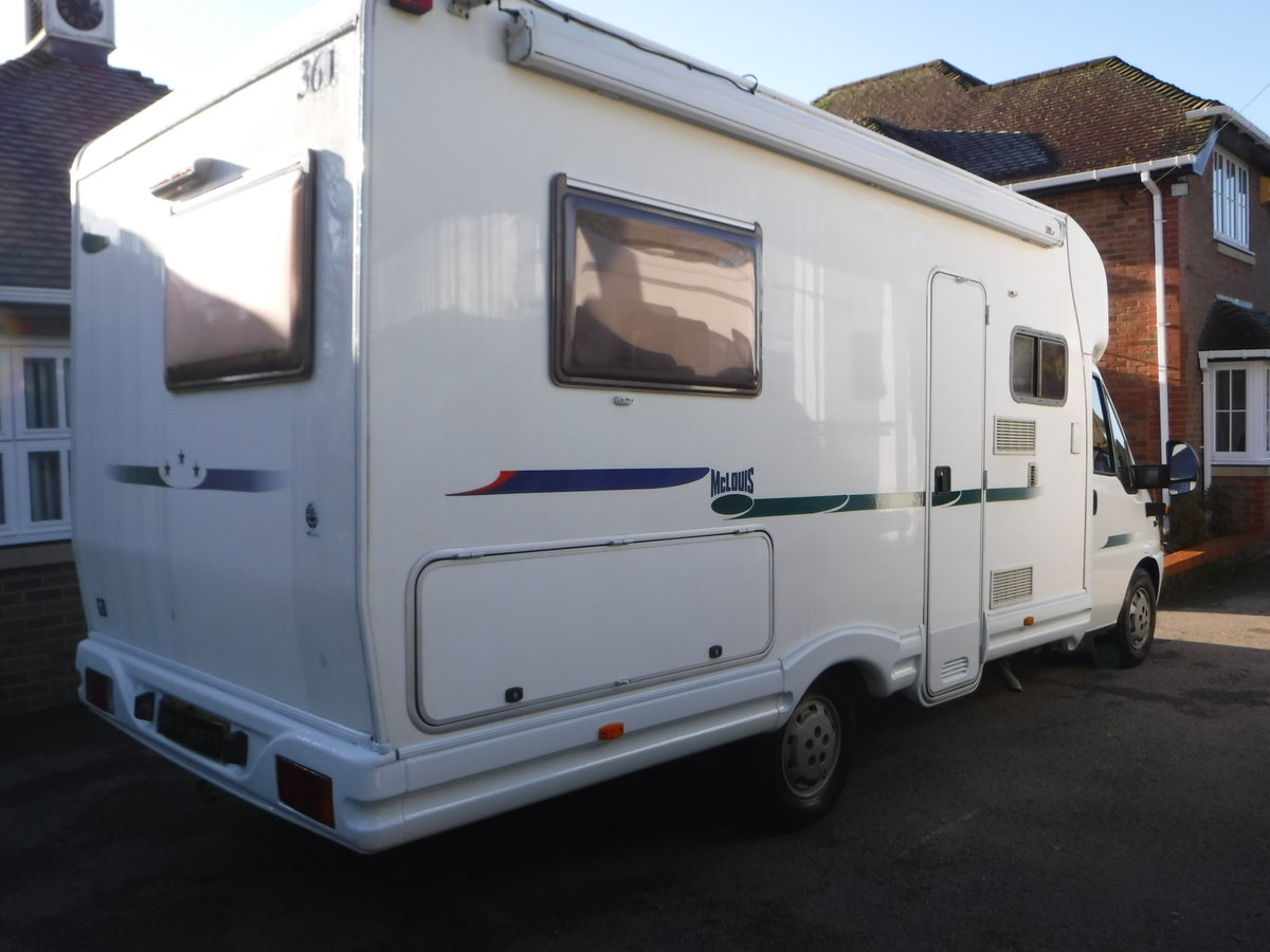 2003 Mclouis 4 Berth, 6 Belted Seat Motorhome For Sale (picture 2 of 6)