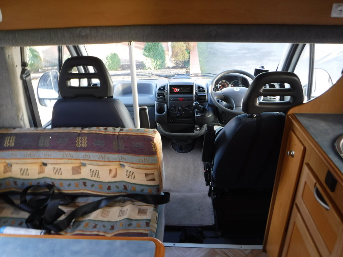 2003 Mclouis 4 Berth, 6 Belted Seat Motorhome For Sale (picture 3 of 6)