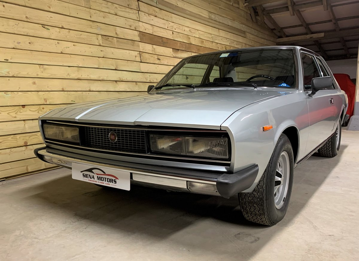 1973 FIAT 130 COUPE AUTOMATIC just 20,000 MILES For Sale (picture 2 of 6)