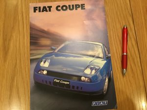 Picture of 1997 Fiat coupe brochure For Sale