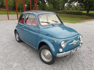 Picture of Fiat 500F blue 1967  B license   7950 euro SOLD