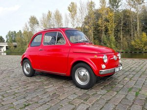 Picture of FIAT 500 F RED 1969  dutch license 8950 euro SOLD