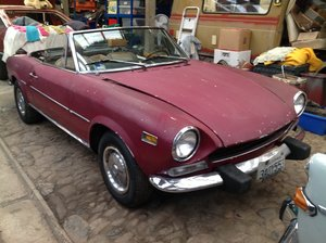 Picture of 1974 Fiat 124 Spider Series 1. For Sale