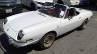 Extremely rare Fiat 850 spider