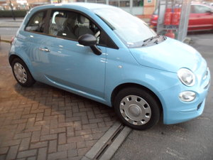 Picture of 2016 66 PLATE FIAT 500 POP IN BLUE SMART LOOKER 44,000 MILES FSH