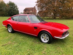 Picture of 1971 Fiat Dino 2400 Coupe LHD only 39klms superb car Rosso For Sale