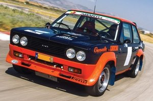 1978 Fiat 131 Abarth Rally Group 4 conversion