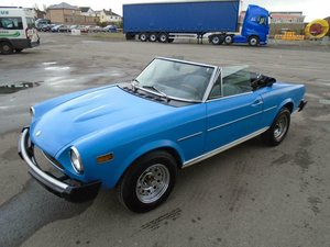 Picture of FIAT 124 1800 SPIDER LHD CONVERTIBLE (1976) SOLD