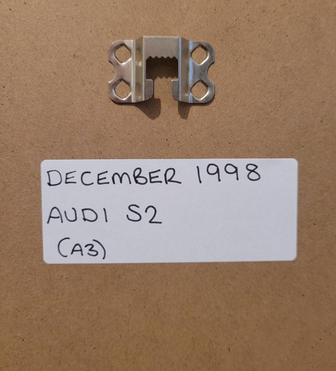 1984 Original 1998 Audi S2 Framed Advert For Sale (picture 2 of 3)