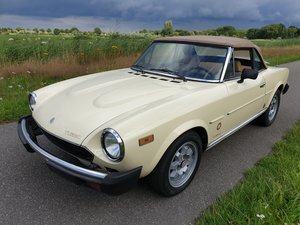 Picture of 1981 Fiat 124 Spider TURBO   Very rare For Sale