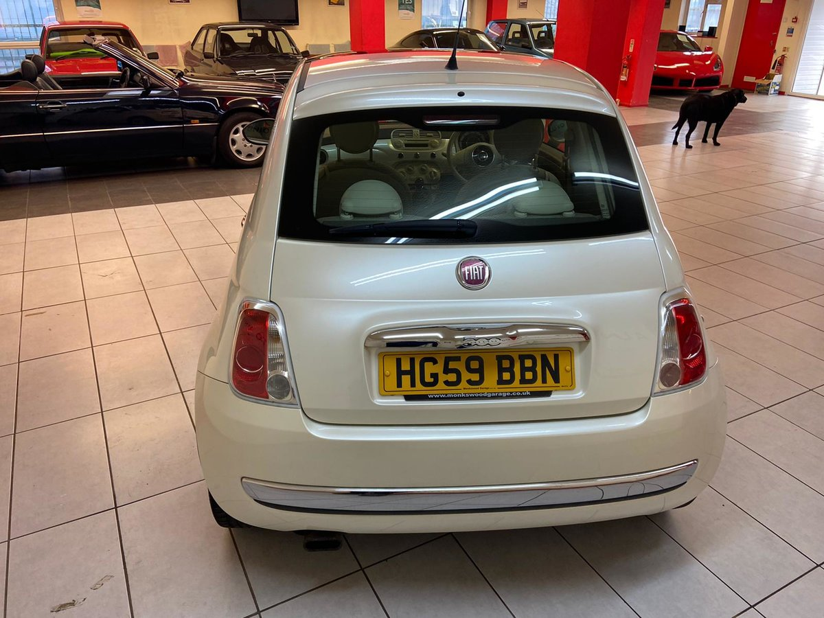 2009 FIAT 500 LOUNGE For Sale (picture 8 of 12)