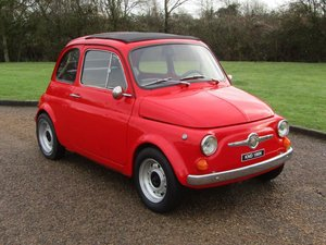 Picture of 1975 Fiat 500 LHD at ACA 13th and 14th February For Sale by Auction