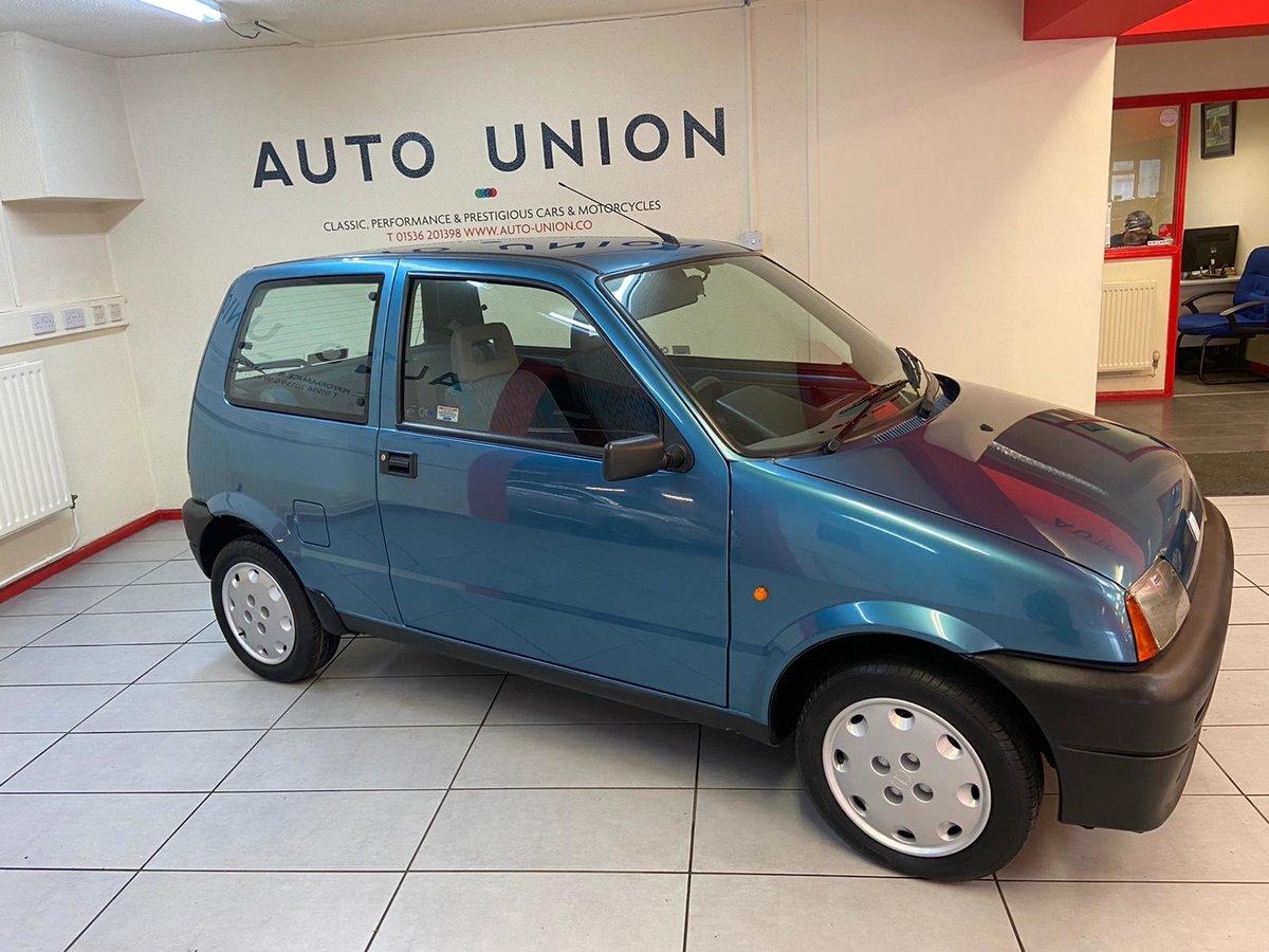 1995 FIAT CINQUECENTO S For Sale (picture 1 of 12)
