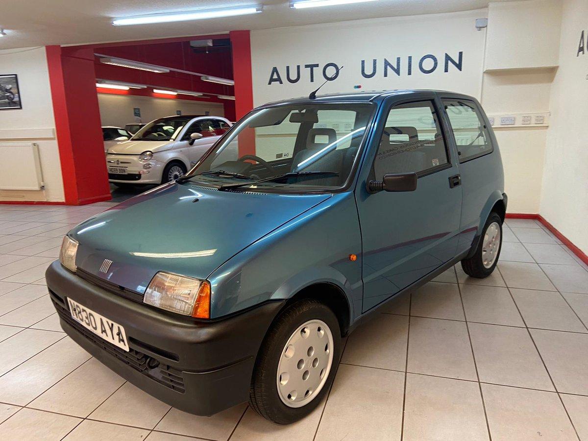 1995 FIAT CINQUECENTO S For Sale (picture 2 of 12)