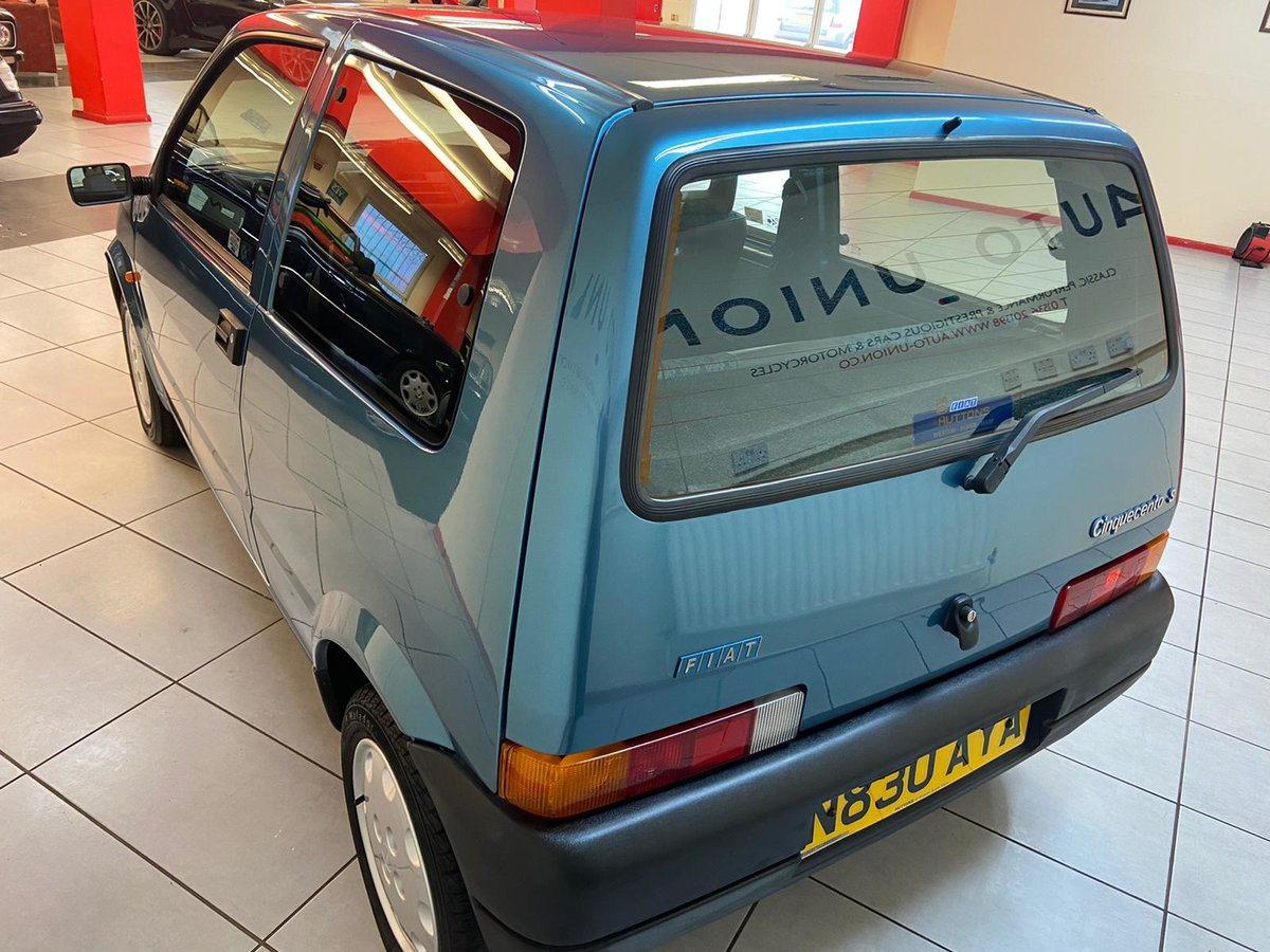 1995 FIAT CINQUECENTO S For Sale (picture 3 of 12)