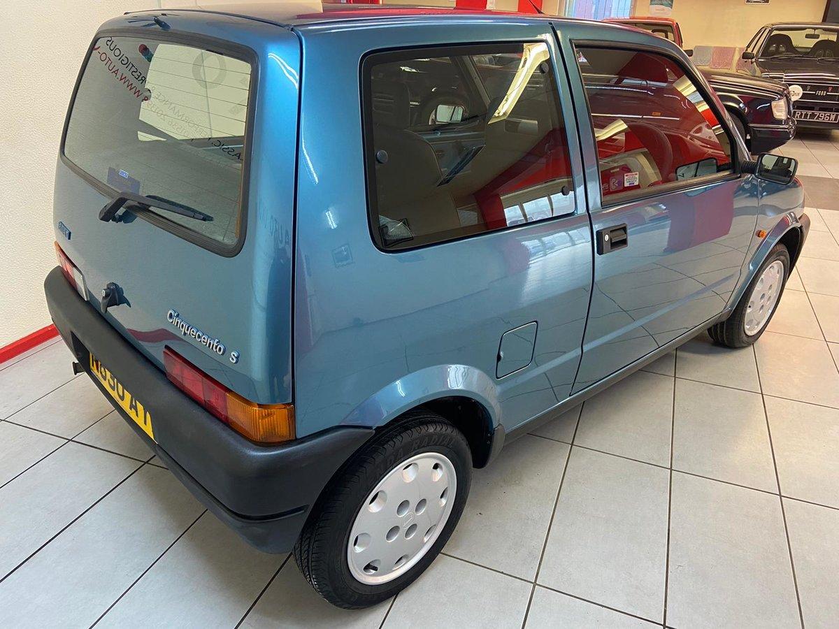 1995 FIAT CINQUECENTO S For Sale (picture 4 of 12)