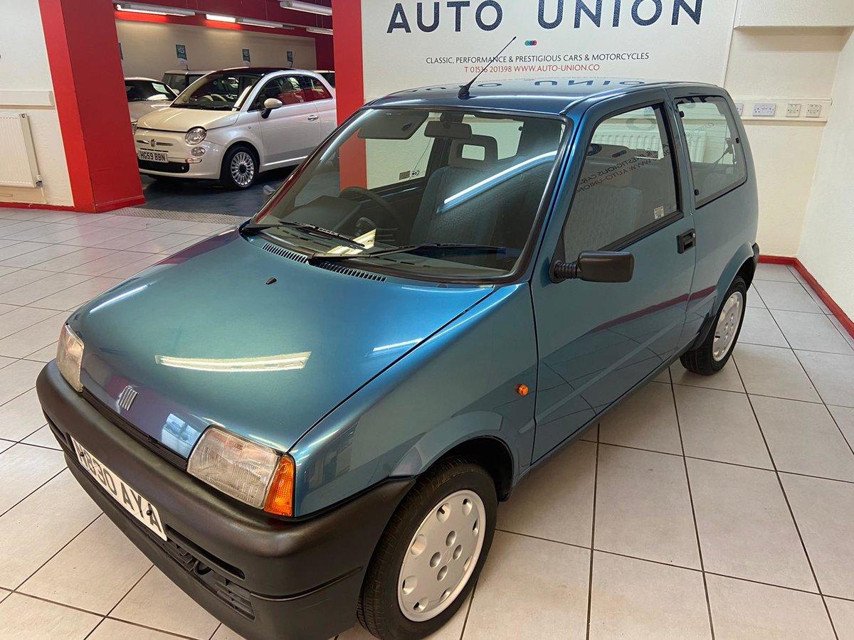 1995 FIAT CINQUECENTO S For Sale (picture 6 of 12)