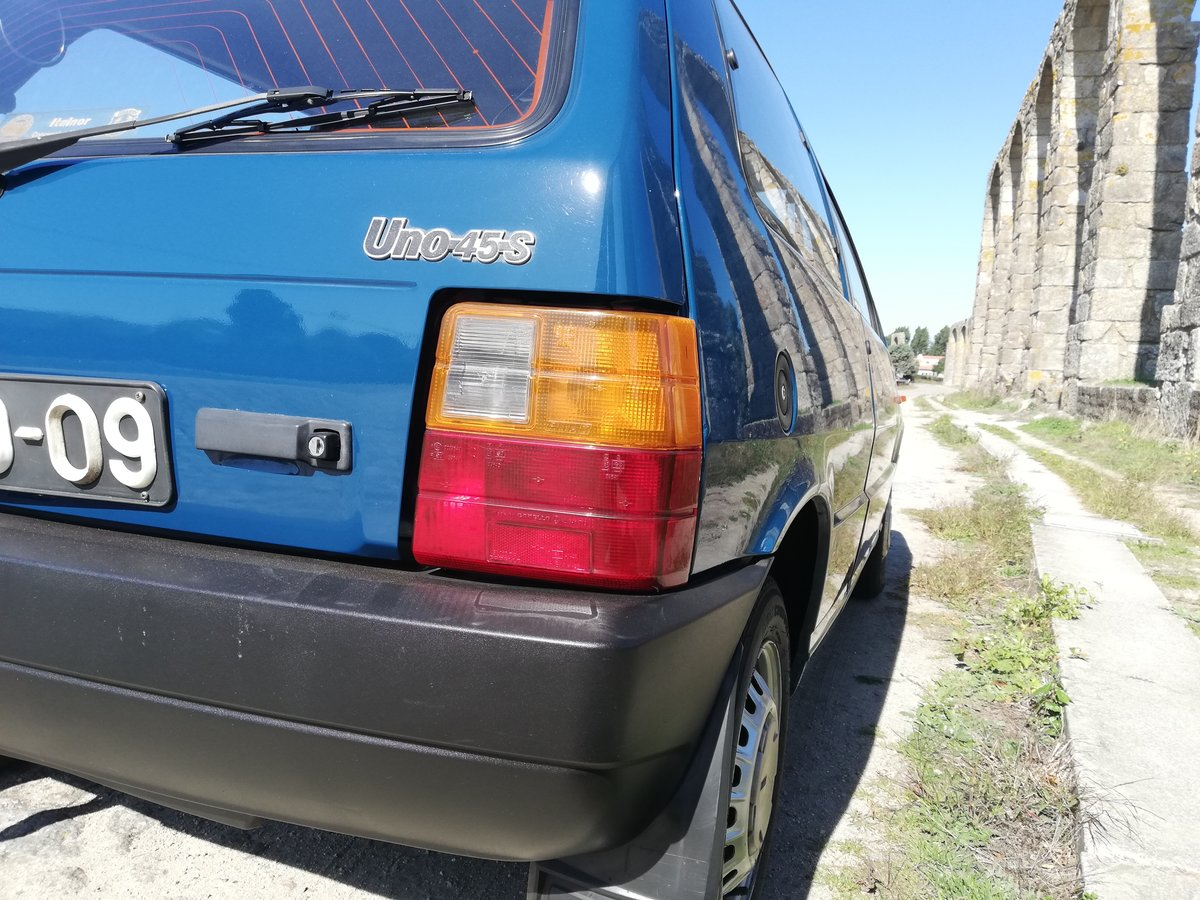 1989 FIAT UNO 45 S 75.000 KMS For Sale (picture 5 of 12)