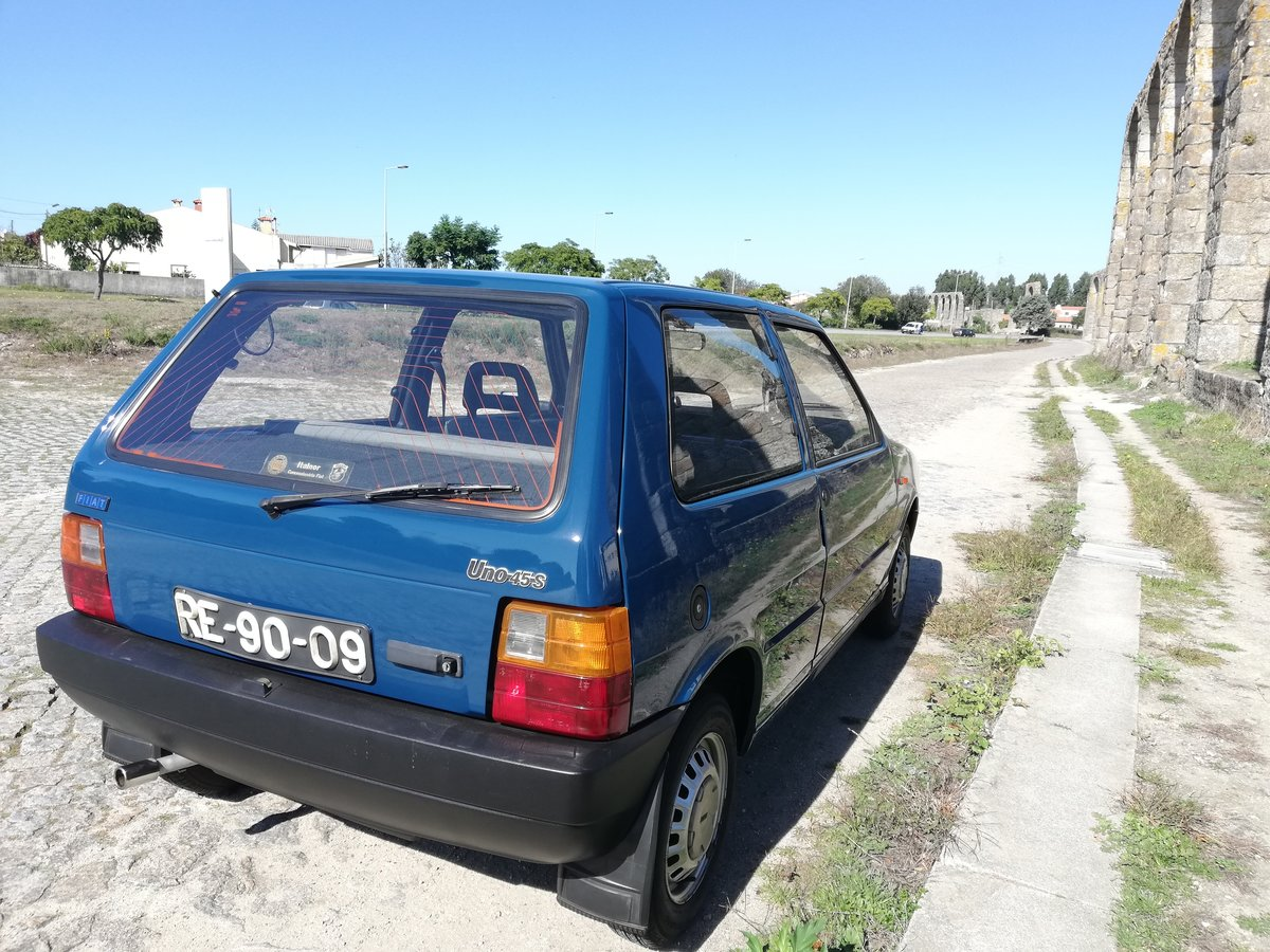 1989 FIAT UNO 45 S 75.000 KMS For Sale (picture 6 of 12)