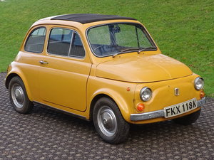 Picture of 1972 Fiat 500 L - Manor Park Classics For Sale by Auction