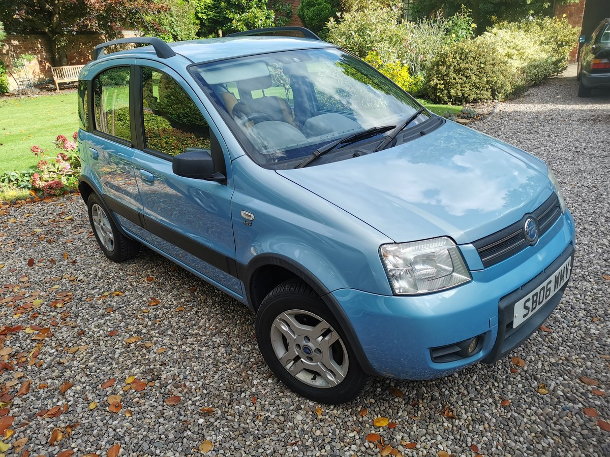 2006 Fiat Panda 4x4 1.2 89l just had cambelt and water pump For Sale (picture 1 of 3)