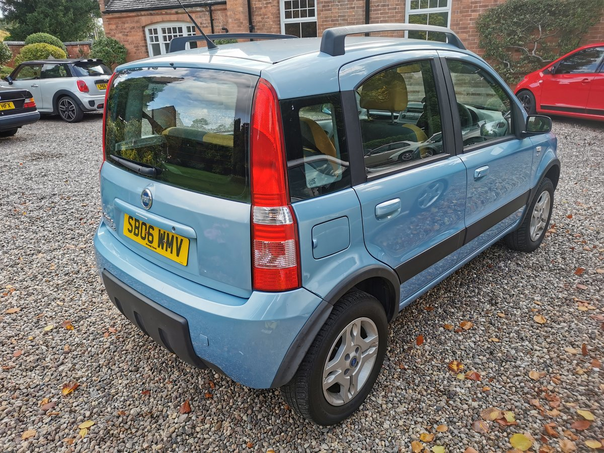 2006 Fiat Panda 4x4 1.2 89l just had cambelt and water pump For Sale (picture 2 of 3)