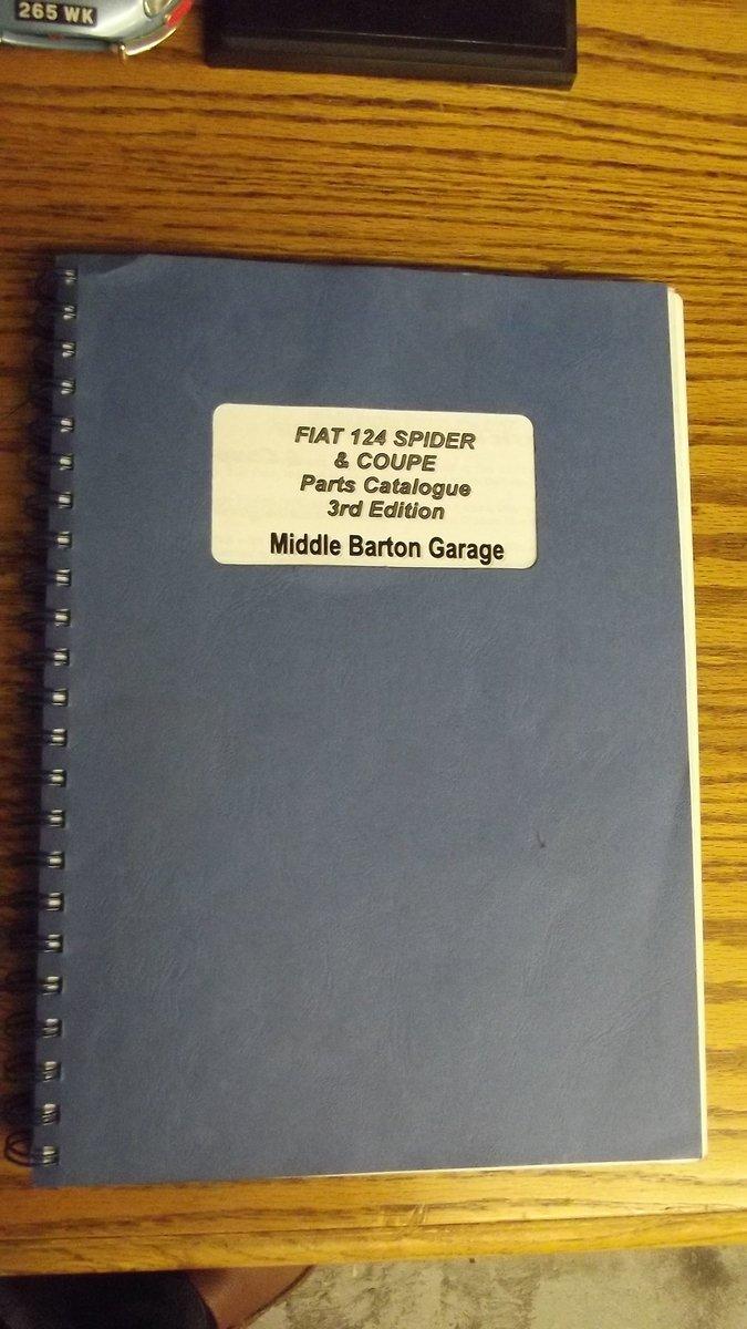 0000 FIAT 124 DINO BARCHETTA MEMORABILIA FOR SALE For Sale (picture 1 of 8)