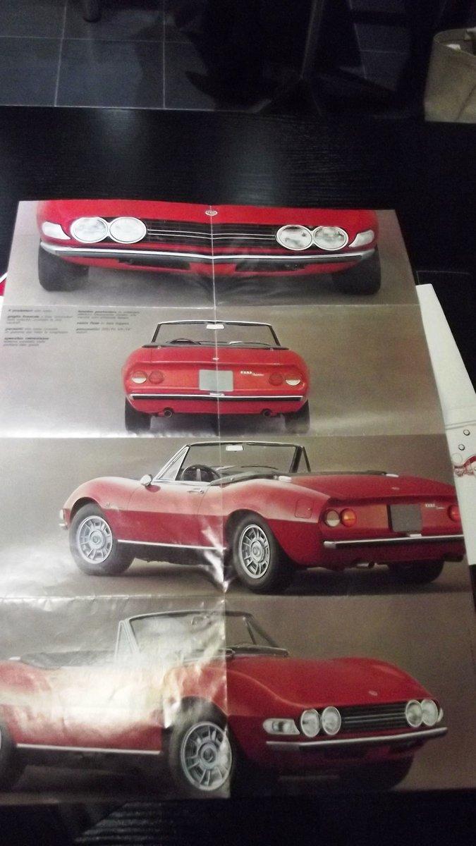 0000 FIAT 124 DINO BARCHETTA MEMORABILIA FOR SALE For Sale (picture 3 of 8)
