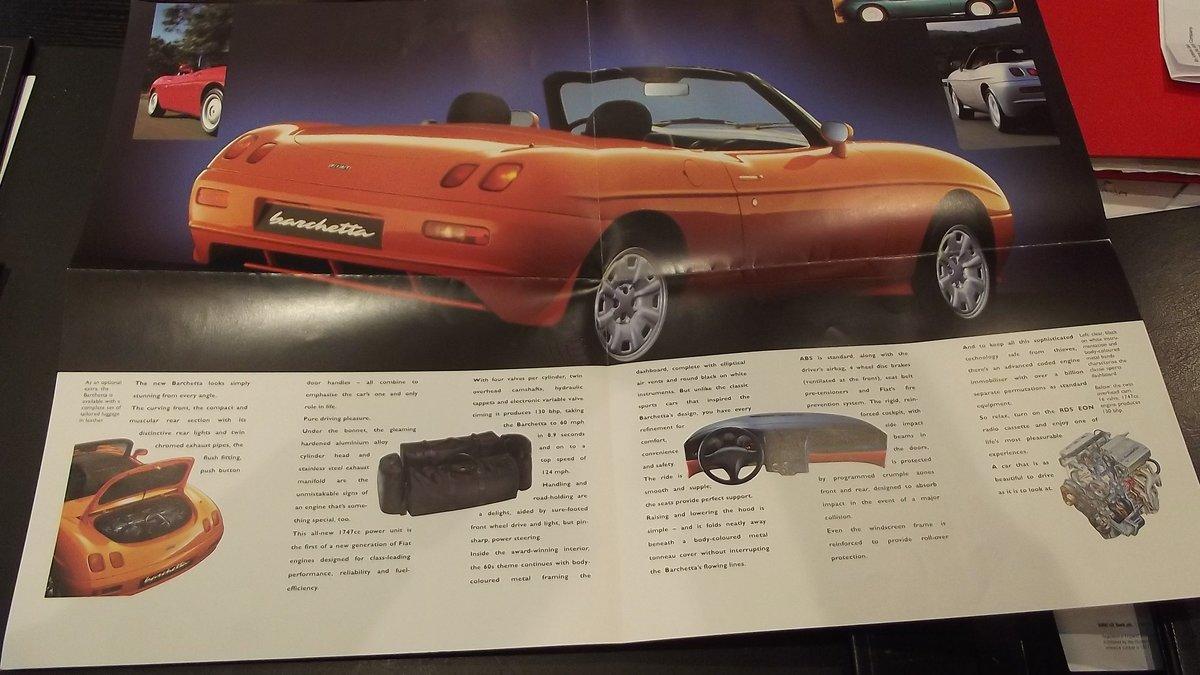 0000 FIAT 124 DINO BARCHETTA MEMORABILIA FOR SALE For Sale (picture 6 of 8)
