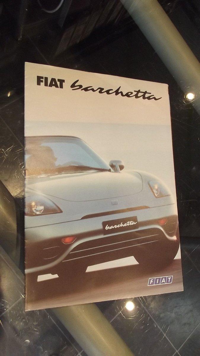 0000 FIAT 124 DINO BARCHETTA MEMORABILIA FOR SALE For Sale (picture 7 of 8)
