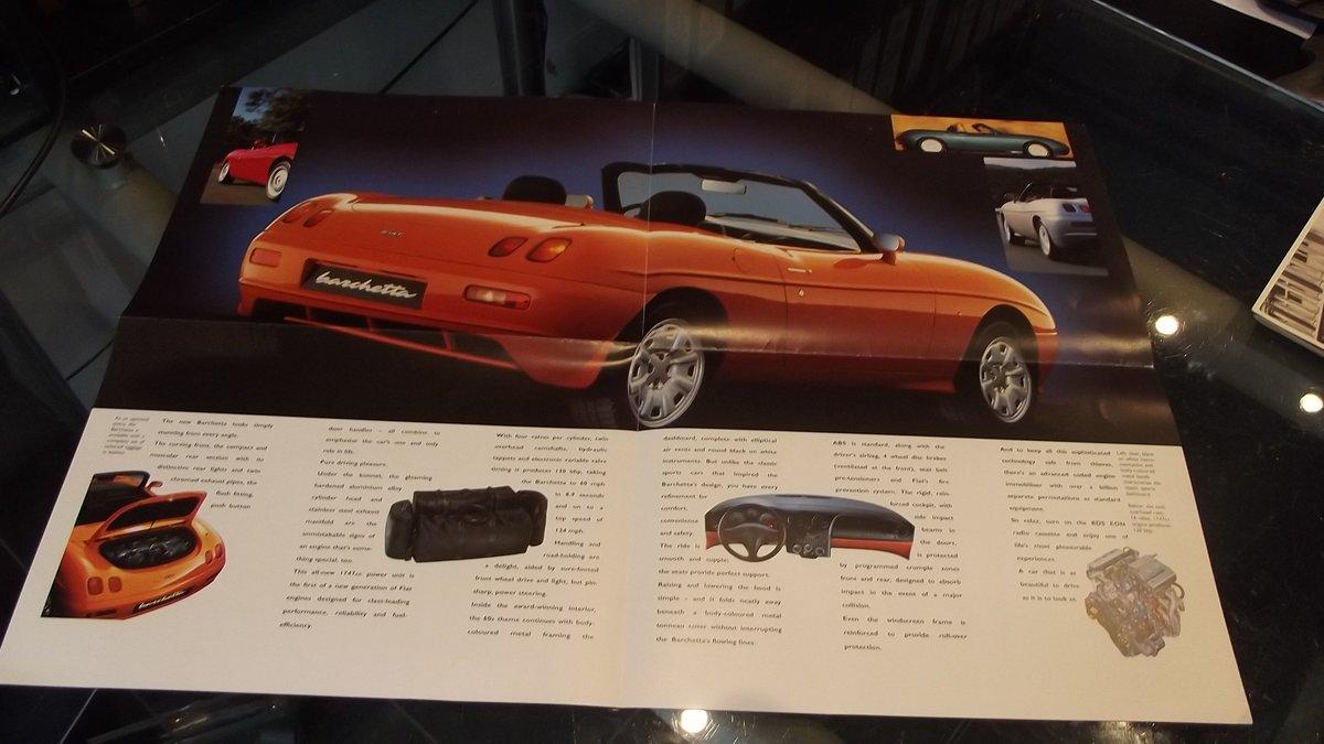 0000 FIAT 124 DINO BARCHETTA MEMORABILIA FOR SALE For Sale (picture 8 of 8)