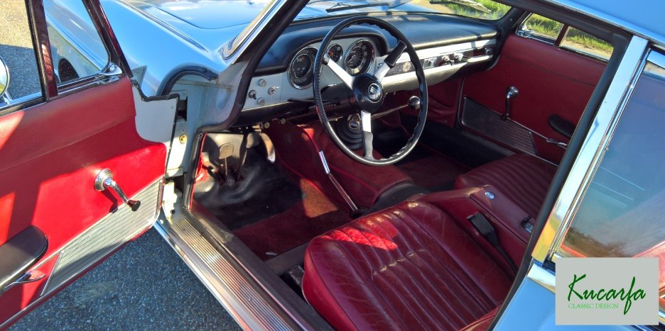 1966 Fiat 1500 Coupe Pininfarina For Sale (picture 4 of 7)
