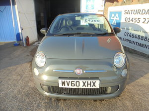 Picture of 2010 GREY FIAT 500 PETROL POP 66,000 MILES  NEW MOT AND WARRANTY For Sale