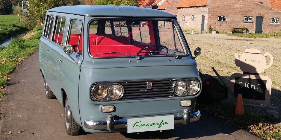 1968 Fiat 850 Familiare For Sale (picture 2 of 6)