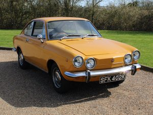 Picture of 1971 Fiat 850 Sport Coupe at ACA 1st and 2nd May For Sale by Auction