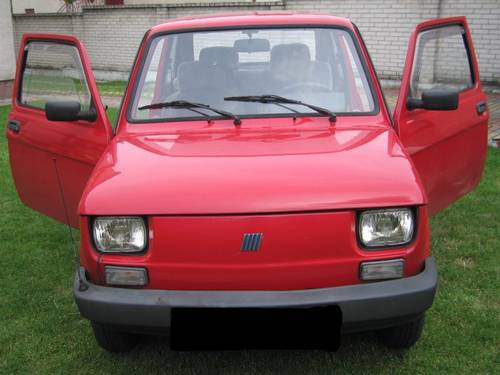 1999 Fiat 126-unique, last edition For Sale (picture 1 of 6)