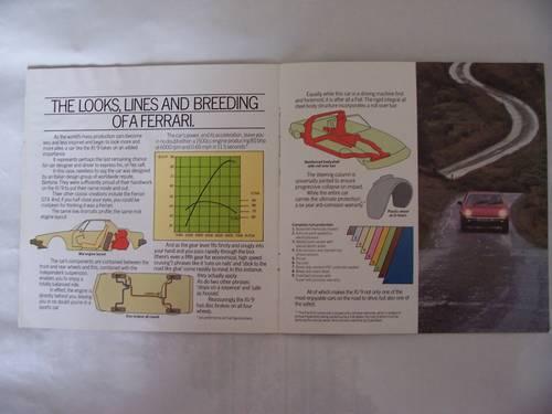 1982 FIAT X 1/9 COLOUR SALES BROCHURE For Sale (picture 3 of 6)