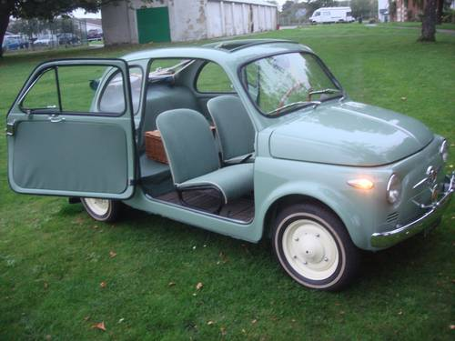 1957 FIAT 500N Series 1. 'VETTRI FISSI' (Fixed window) WOW! For Sale (picture 1 of 6)