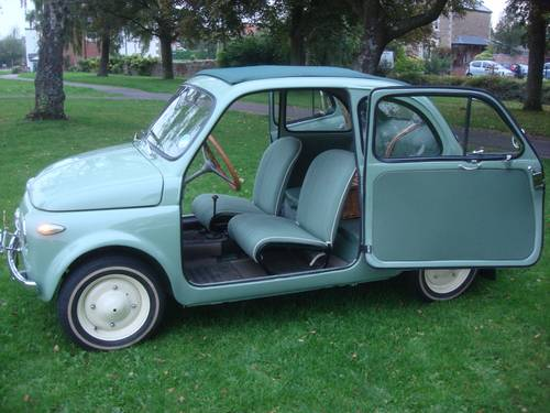 1957 FIAT 500N Series 1. 'VETTRI FISSI' (Fixed window) WOW! For Sale (picture 4 of 6)